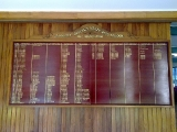 School Honour Board